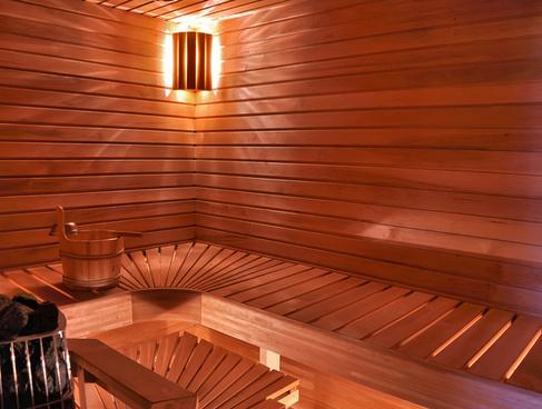 udendørs sauna