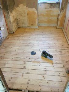 Slibning af gulv Valby